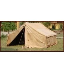 Roman Army tent, complete set, vegetable tanned leather
