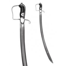Light Cavalry Sabre, Pattern 1796, with steel scabbard