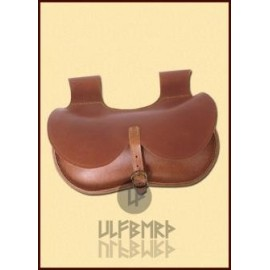 Gothic Leather Bag, brown