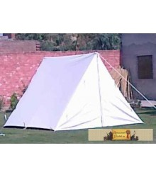 Wedge tent big 3 x 2.50m, natural