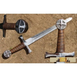 BATTLE READY DAGGER, cross pommel