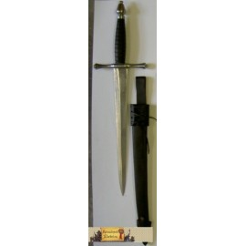 FORGED DAGGER with SCABBARD IV