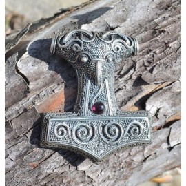 BIG THOR HAMMER from Skane - Sweden, Ag 925, 17 g