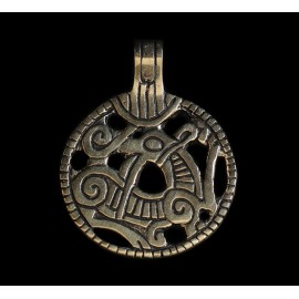 Dragon Pendant from Gnezdowo, bronze finding replica