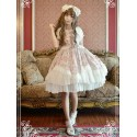 Neverland Ancient Clocks Sweet Lolita OP Dress