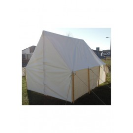 Historical Army Tent, Wall Tent, 4.50 x 3.00 m