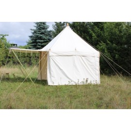 Square Tent 6 x 6m - cotton