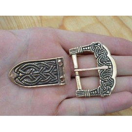 Bronze Viking Buckle, Gokstad, Norway, replica