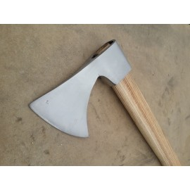 Hand forged axe XIII century