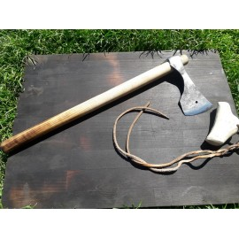 Hand forged axe Made of carbon steel, slavic style axe.