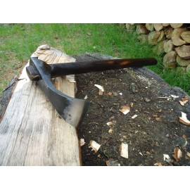 Hand forged wood tool