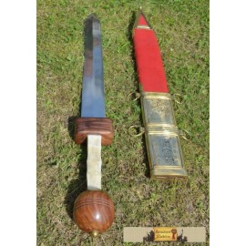 POMPEII GLADIUS SWORD WITH SCABBARD, collectible replica