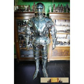 CUSTOM SUIT OF ARMOUR WITH SALLET