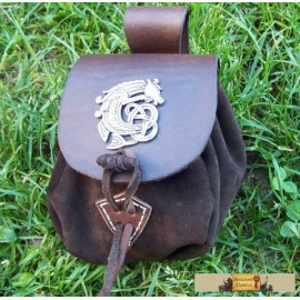 SMALL POUCH - Celtic Seahorse
